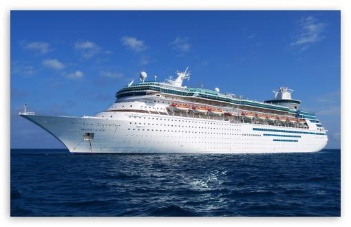 Download Cruise Ship Journey UltraHD Wallpaper