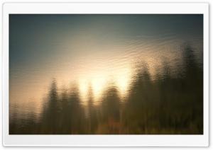 Lake Water Surface Reflection...