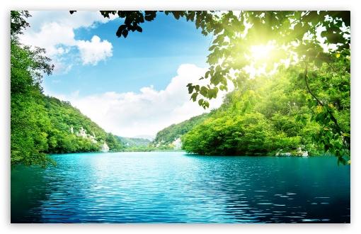 Download PEACEFUL  LAKE UltraHD Wallpaper