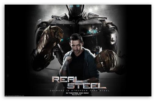 Download Real Steel Movie 2011 UltraHD Wallpaper