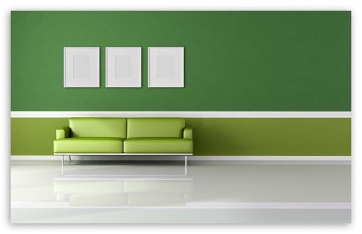 Download Green Room UltraHD Wallpaper