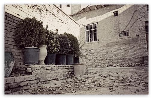 Download Old House In Citadel Of Erbil UltraHD Wallpaper