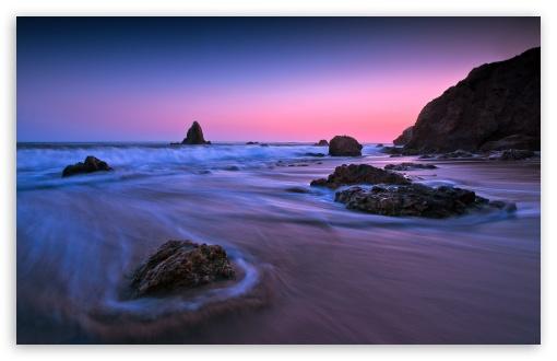 Download Purple Sunset Light UltraHD Wallpaper
