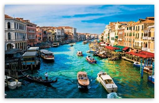 Download Canal Grande Venice UltraHD Wallpaper