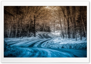 Blue Snow On The Road