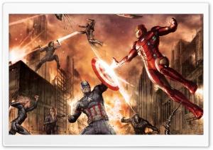 Civil War Battle Concept