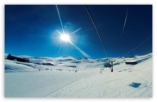Download Valle Nevado UltraHD Wallpaper