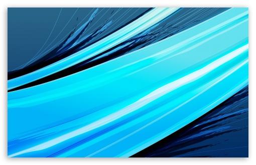 Download Abstract Graphic Art   Blue I UltraHD Wallpaper