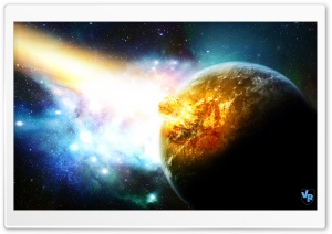 Meteor Crash Planet