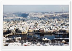Prague Winter Panorama