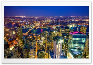 New York City, Manhattan at...