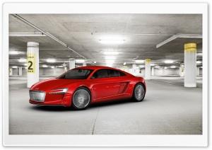 Audi E Tron Parking Garage