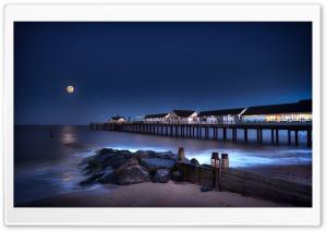 Southwold Pier Beach Suffolk,...