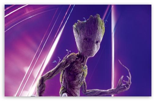 Download Avengers Infinity War 2018 Movie Groot UltraHD Wallpaper