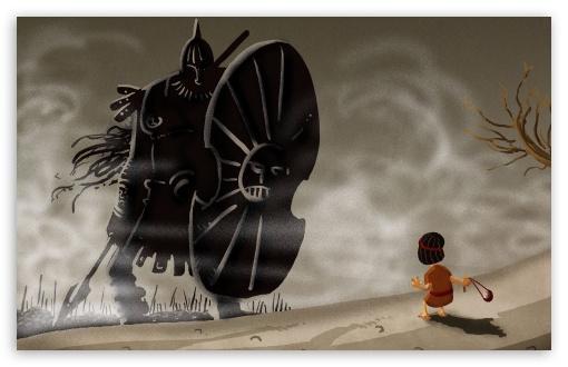 Download David And Goliath UltraHD Wallpaper