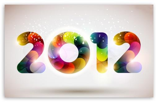 Download 2012 Happy New Year UltraHD Wallpaper