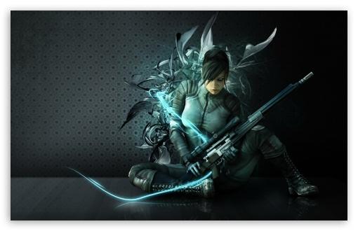 Download Beautiful Warrior Design UltraHD Wallpaper