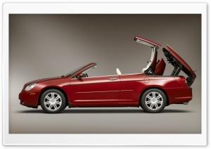 Red Chrysler Cabriolet