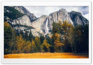 Yosemite Waterfalls Autumn