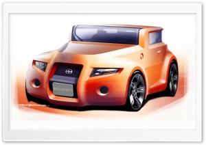 Scion Hako Concept Sketch