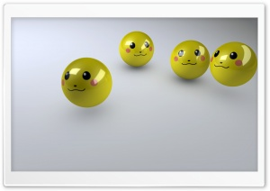 Smiley Faces 3D