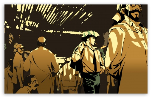 Download Cowboy Bebop - Crowd UltraHD Wallpaper