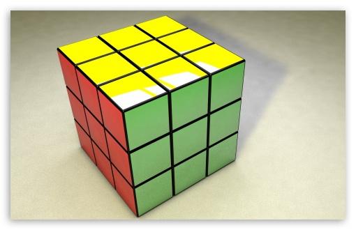 Download Rubiks Cube UltraHD Wallpaper