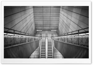 Escalators Black And White