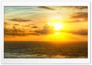 Sunrise Across The Sea