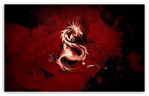 Download Dragon Symbol UltraHD Wallpaper