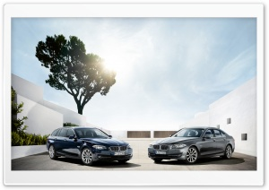Two BMW 5 Series Touring F11...