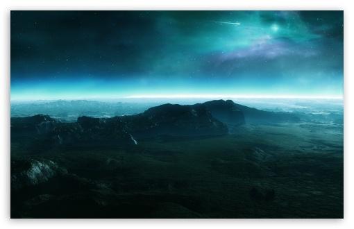 Download Alien Landscape UltraHD Wallpaper