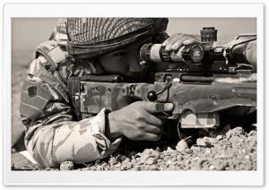 Sniper Sepia