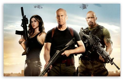 Download GI Joe Retaliation Bruce Willis UltraHD Wallpaper