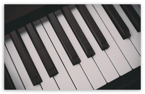 Download Piano Keyboards UltraHD Wallpaper
