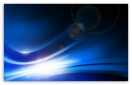 Download Blue Light UltraHD Wallpaper