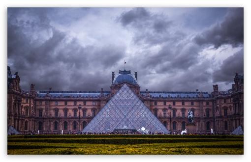 Download Louvre Museum, Paris, France UltraHD Wallpaper