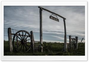 Beutiful Old Farm Gate