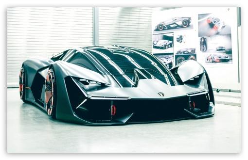 Download Lamborghini Terzo Millennio UltraHD Wallpaper