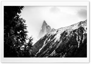 Misty Cloudy Mountain