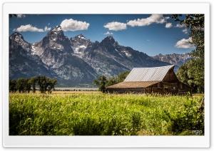 Grand Teton from Mormon Row...