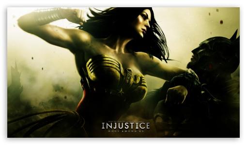 Download Injustice Gods Among Us - Batman vs Wonder Woman UltraHD Wallpaper