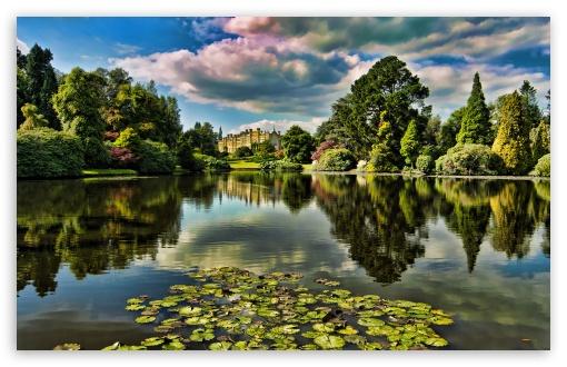 Download Castle HDR UltraHD Wallpaper