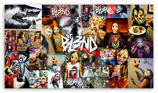 Download DJ BL3ND Party UltraHD Wallpaper