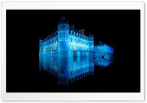Castle In Blue Light