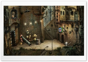 Alley, Machinarium Game