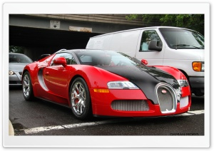 Red Bugatti Grand Sport