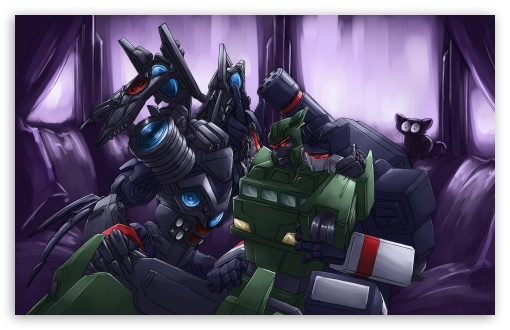 Download Transformers Robots UltraHD Wallpaper