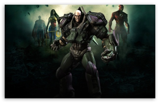 Download Injustice Gods Among Us - Lex Luthor UltraHD Wallpaper