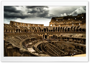 Cloudy Colosseum